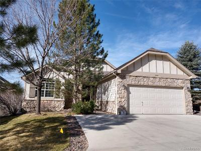 Castle Pines Single Family Home Under Contract: 1309 Castlepoint Circle
