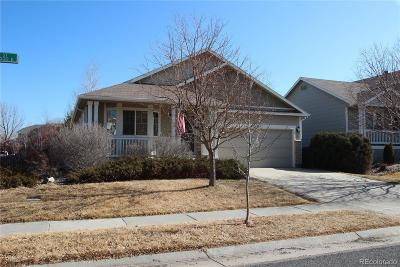 Commerce City Single Family Home Under Contract: 11498 Kenton Street