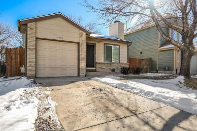 Littleton Single Family Home Under Contract: 5602 South Yank Court