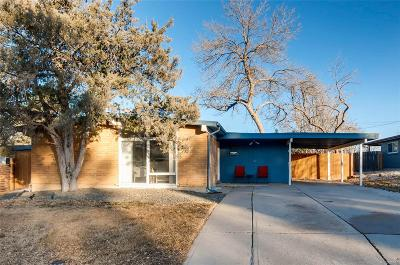 Denver Single Family Home Active: 2650 South Perry Street