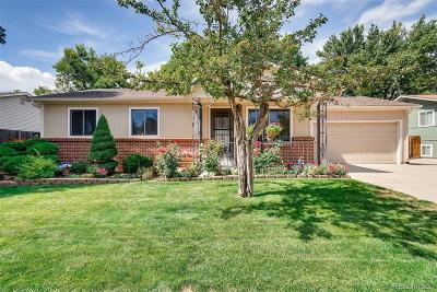 Arvada Single Family Home Under Contract: 6243 Depew Street