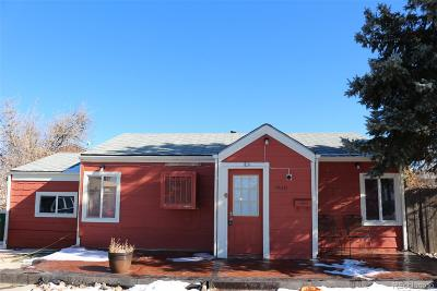 Aurora CO Single Family Home Active: $250,000