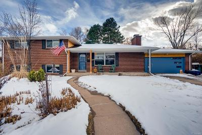 Denver Single Family Home Active: 2332 South Leyden Street