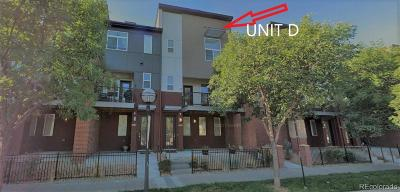 Wheat Ridge Condo/Townhouse Active: 5630 West 38th Avenue #D