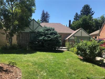 Denver Single Family Home Active: 1545 North Olive Street