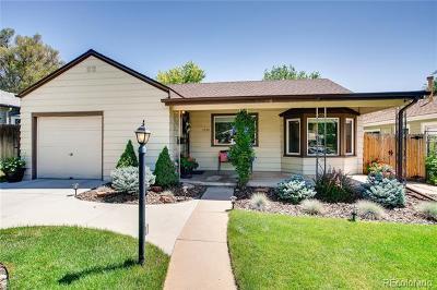 Cory-Merrill Single Family Home Active: 1630 South Columbine Street