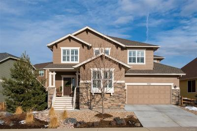 Castle Rock Single Family Home Under Contract: 2884 Dreamcatcher Loop