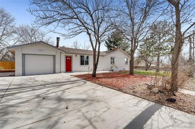 Arvada Single Family Home Under Contract: 8395 West 64th Avenue