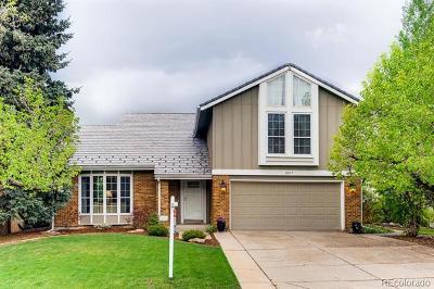 Centennial Single Family Home Active: 8677 East Otero Circle
