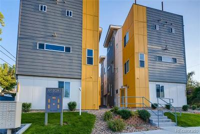 Denver Condo/Townhouse Active: 3136 West 19th Avenue #3