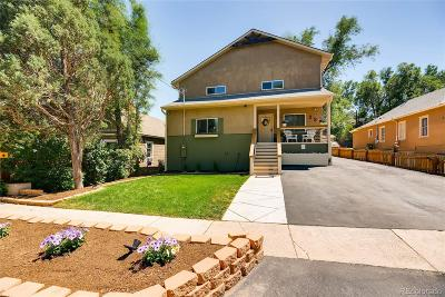 Colorado Springs Single Family Home Active: 23 West Brookside Street