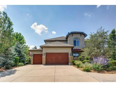 Castle Pines Single Family Home Active: 12569 Daniels Gate Drive
