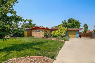 Broomfield Single Family Home Under Contract: 260 Daphne Way
