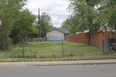 Denver Residential Lots & Land Active: 3209 West Exposition Avenue