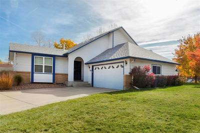 Westminster Single Family Home Under Contract: 7282 Eaton Circle