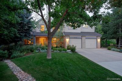 Littleton Single Family Home Active: 6735 South Crocker Way