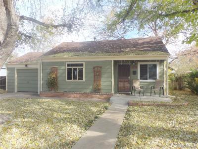 Denver Single Family Home Active: 2670 South Hazel Court
