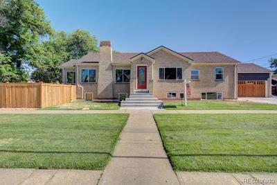 Denver Single Family Home Active: 2506 Glencoe Street