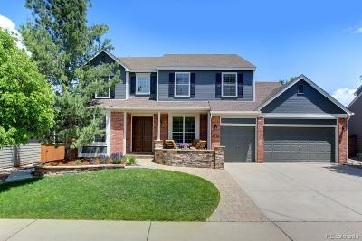 Highlands Ranch Single Family Home Under Contract: 2231 Indian Paintbrush Drive