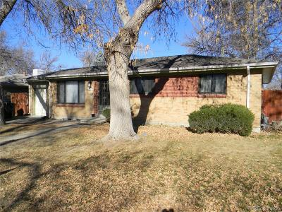 Aurora Single Family Home Active: 12517 East 31st Avenue