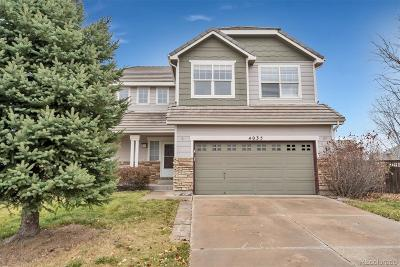 Castle Rock Single Family Home Active: 4035 Mesa Meadows Court
