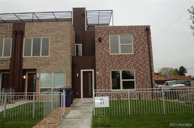 Denver Single Family Home Active: 1595 Wolff Street