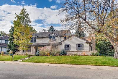 Denver Single Family Home Active: 3805 South Niagara Way