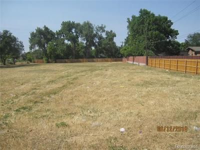 Aurora Residential Lots & Land Active: 1051 South Geneva Street