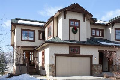 Steamboat Springs Condo/Townhouse Active: 1425 Flattop Circle