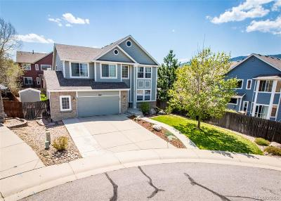 Littleton Single Family Home Active: 7860 Rampart Way