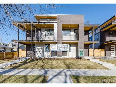 Denver Condo/Townhouse Active: 3207 West 25th Avenue