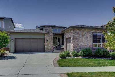Lone Tree Single Family Home Under Contract: 10473 North Sky Drive