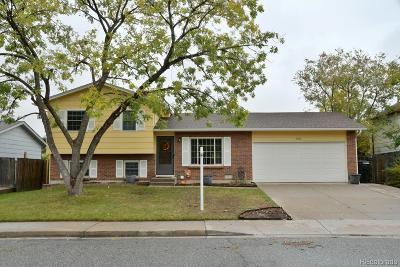 Littleton Single Family Home Active: 4602 South Dudley Street