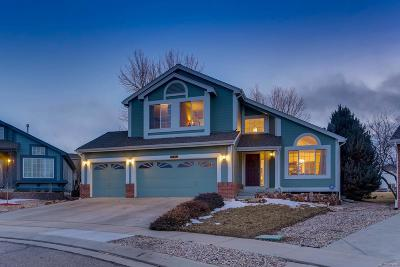 Longmont Single Family Home Under Contract: 1487 Clover Creek Drive