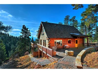 Conifer Single Family Home Under Contract: 13591 Rampart Drive