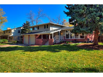 Littleton Single Family Home Under Contract: 7074 South Kendall Court