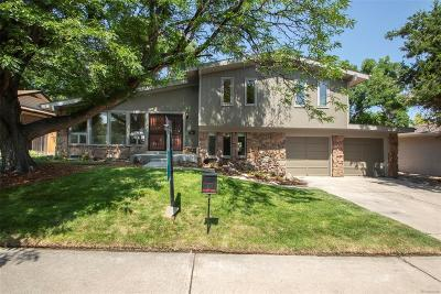 Denver Single Family Home Active: 2983 South Wabash Street