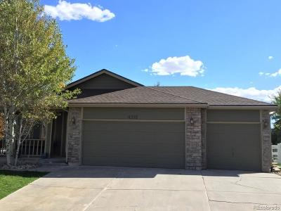 Castle Rock Single Family Home Under Contract: 4512 Meyers Court