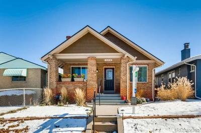 Denver Single Family Home Under Contract: 3216 North Fillmore Street