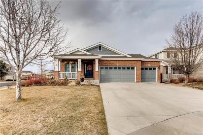 Aurora Single Family Home Under Contract: 20331 East Duke Drive