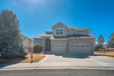 Castle Rock Single Family Home Active: 2006 Rose Petal Court