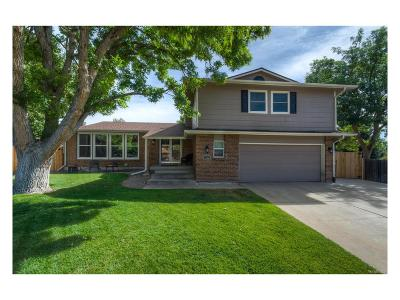 Littleton Single Family Home Active: 7772 South Marshall Court