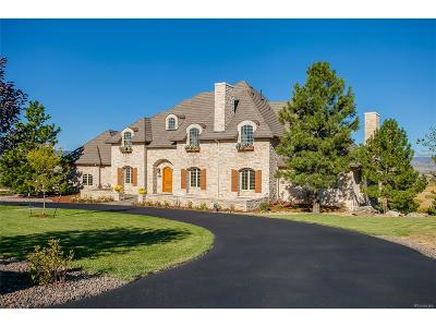 Littleton Single Family Home Under Contract: 8647 Coachlight Way