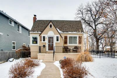 Denver County Single Family Home Active: 4595 Perry Street
