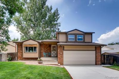 Littleton Single Family Home Active: 4865 South Estes Way