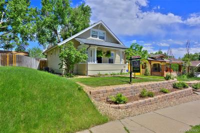 Denver Single Family Home Active: 4820 Raleigh Street