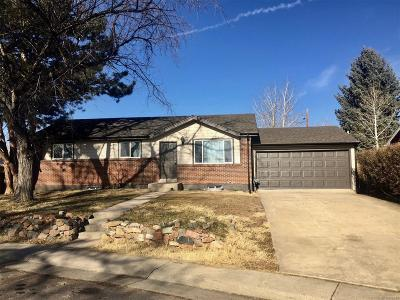 Northglenn Single Family Home Under Contract: 11382 Lafayette Street