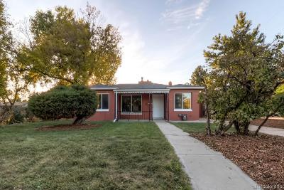 Denver Single Family Home Active: 2659 North Garfield Street