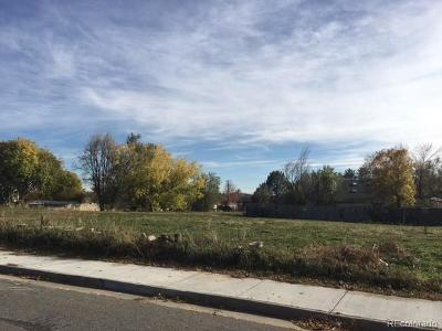 Arvada Residential Lots & Land Active: 5330 Wellington Parkway