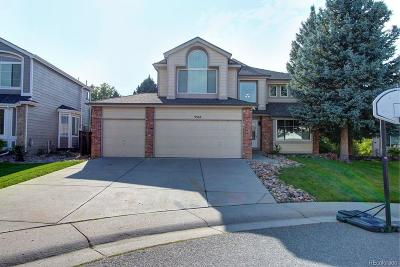 Highlands Ranch Single Family Home Active: 9543 Hagen Court